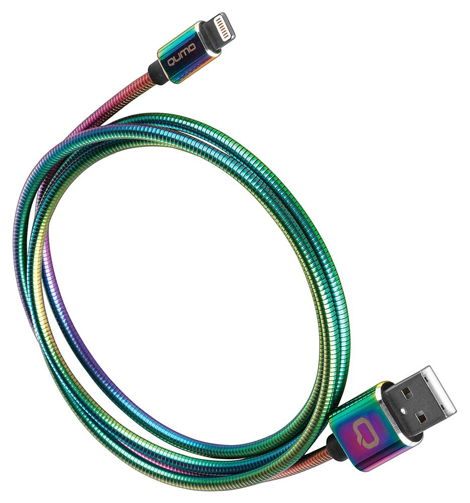 Дата-кабель Qumo Lightning MFI 1м градиент стоимость