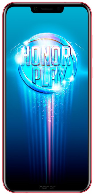 Honor Play LTE Dual sim red