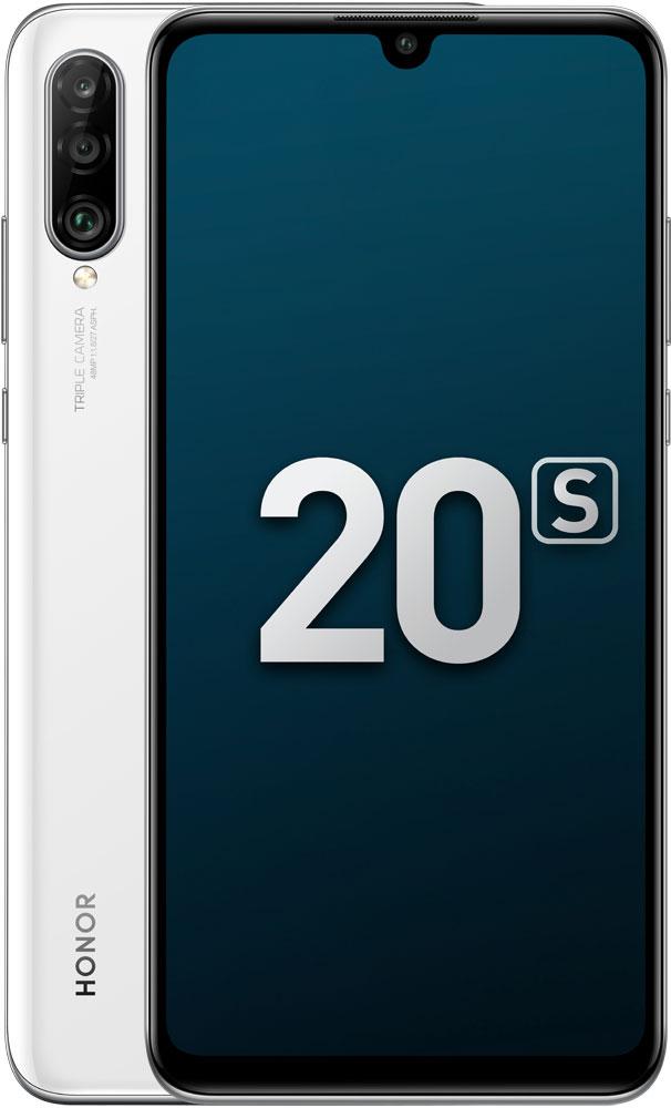 Смартфон Honor 20S 6/128Gb White, смартфон, 0101-6926  - купить со скидкой