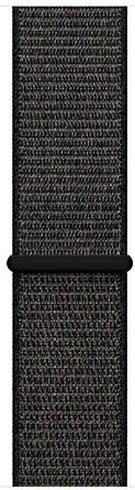 Ремешок для умных часов Apple Watch 42mm нейлоновый black (MQW72ZM/A)