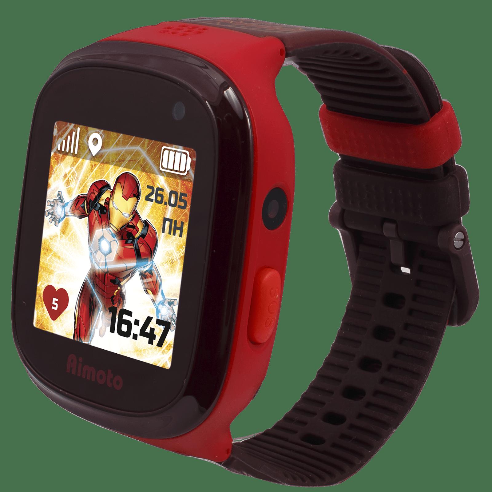 Детские часы Кнопка Жизни Aimoto Marvel Железный человек red кнопка жизни aimoto ocean light blue умные часы