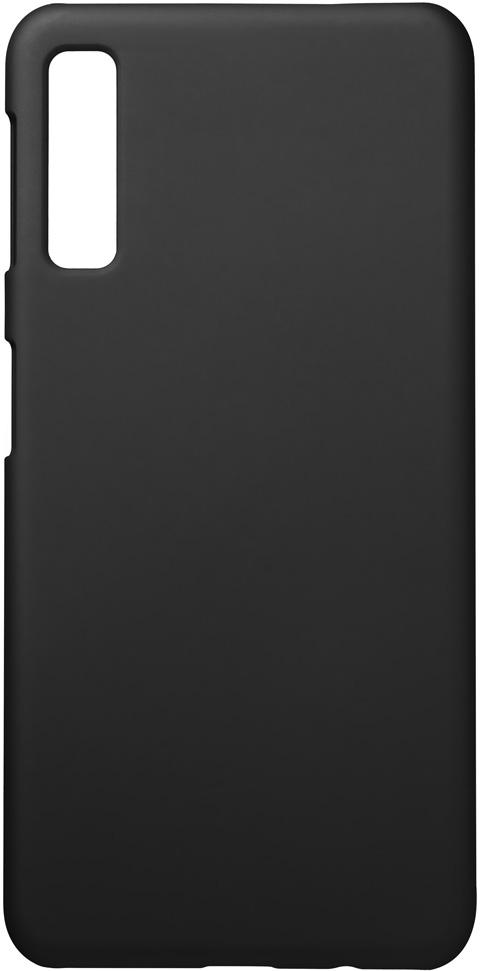 Клип-кейс Deppa Samsung Galaxy A7 2018 пластик Black клип кейс deppa samsung galaxy a7 2018 tpu прозрачный