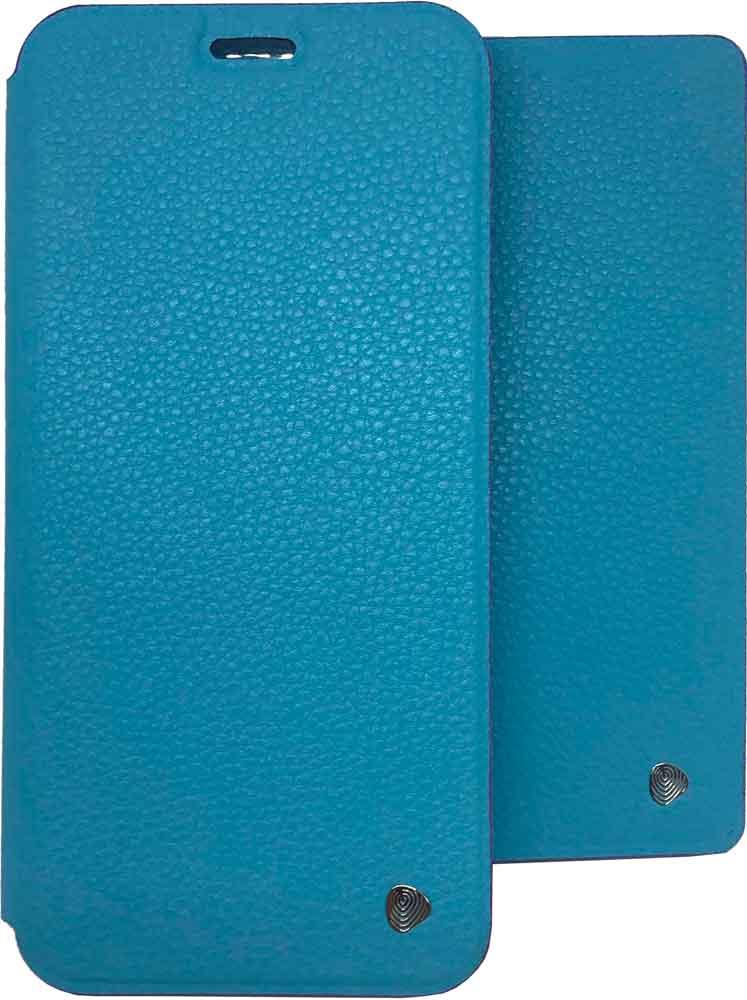 лучшая цена Набор чехлов OxyFashion Honor 8С чехол-книжка+обложка для паспорта Blue
