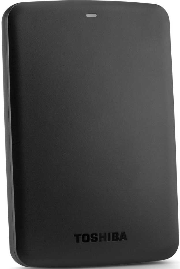 Внешний жесткий диск Toshiba 1Tb USB 3.0 Canvio Basics Black (HDTB410EK3AA)
