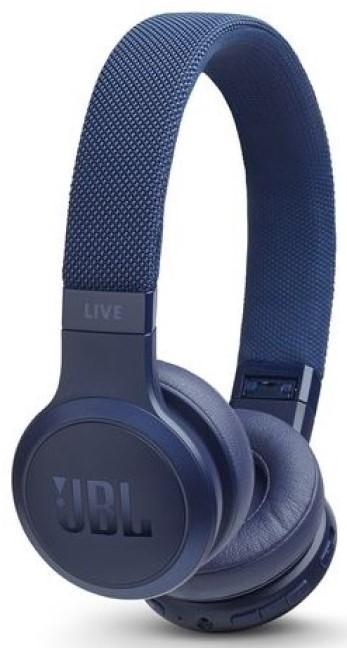 Наушники JBL Bluetooth LIVE400BTBLK накладные Blue фото