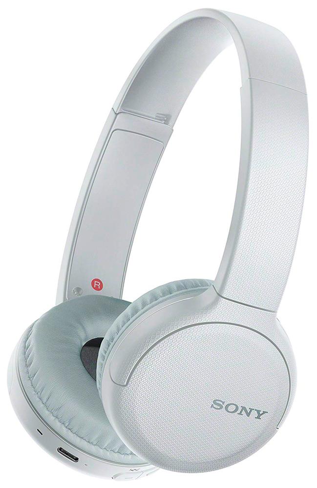 Беспроводные наушники с микрофоном Sony WHCH510 White фото