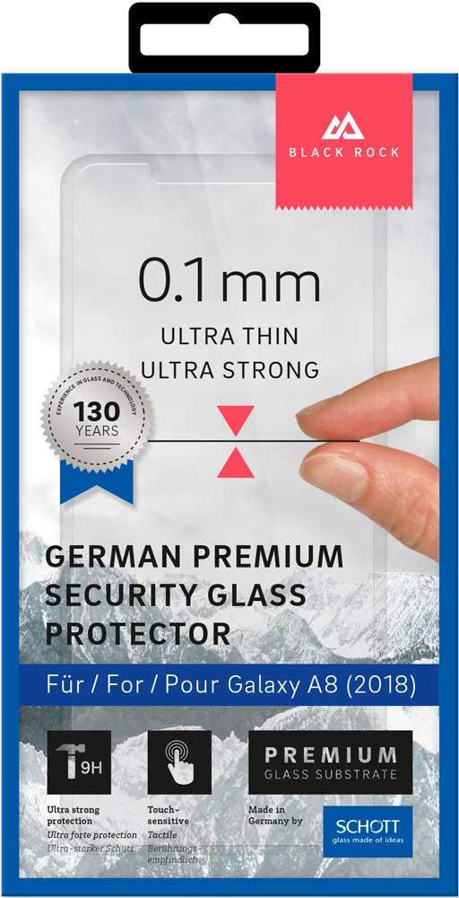 Стекло защитное Black Rock Samsung Galaxy A8 0.1 мм прозрачное стоимость