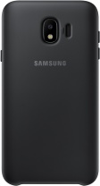 фото Клип-кейс Samsung Galaxy J4 Dual Layer Cover Black (EF-PJ400CBEGRU)