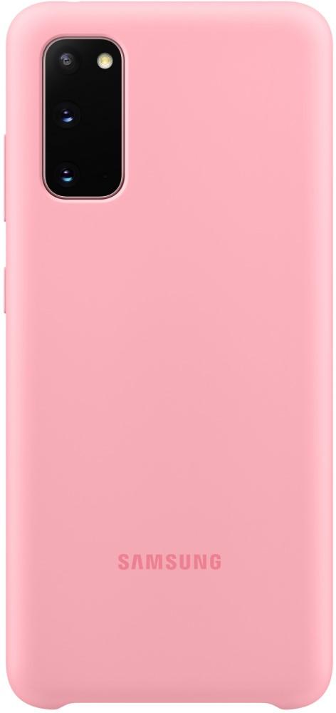 Клип-кейс Samsung S20 силиконовый Pink (EF-PG980TPEGRU) фото