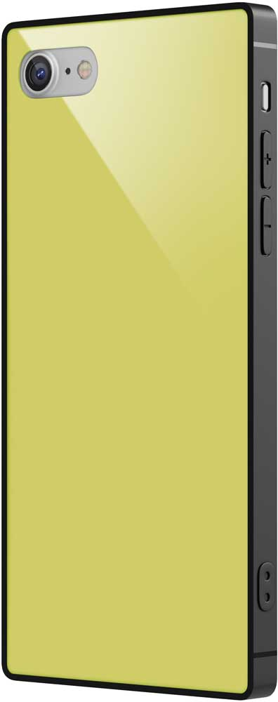 Клип-кейс Vipe Glass Apple iPhone 8/7 прямоугольный Yellow клип кейс vipe glass apple iphone х прямоугольный red
