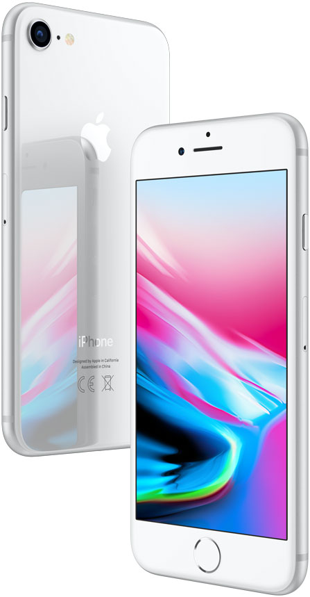 Смартфон Apple iPhone 8 256GB Silver (Серебристый) цена и фото