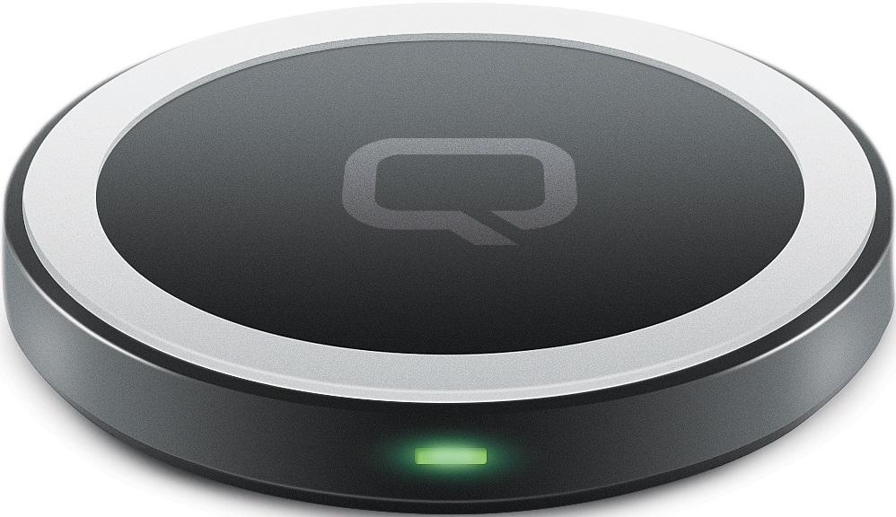 Беспроводное зарядное устройство Qumo PowerAid QI mini table Black