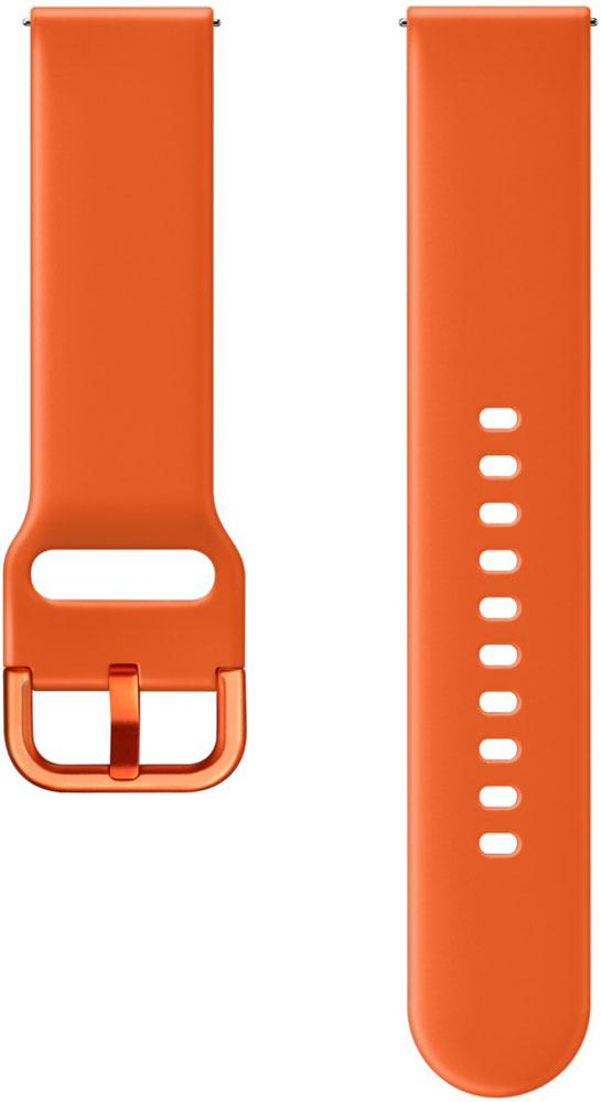 Ремешок для умных часов Samsung Galaxy Watch Active ET-SFR50M спортивный Orange фото