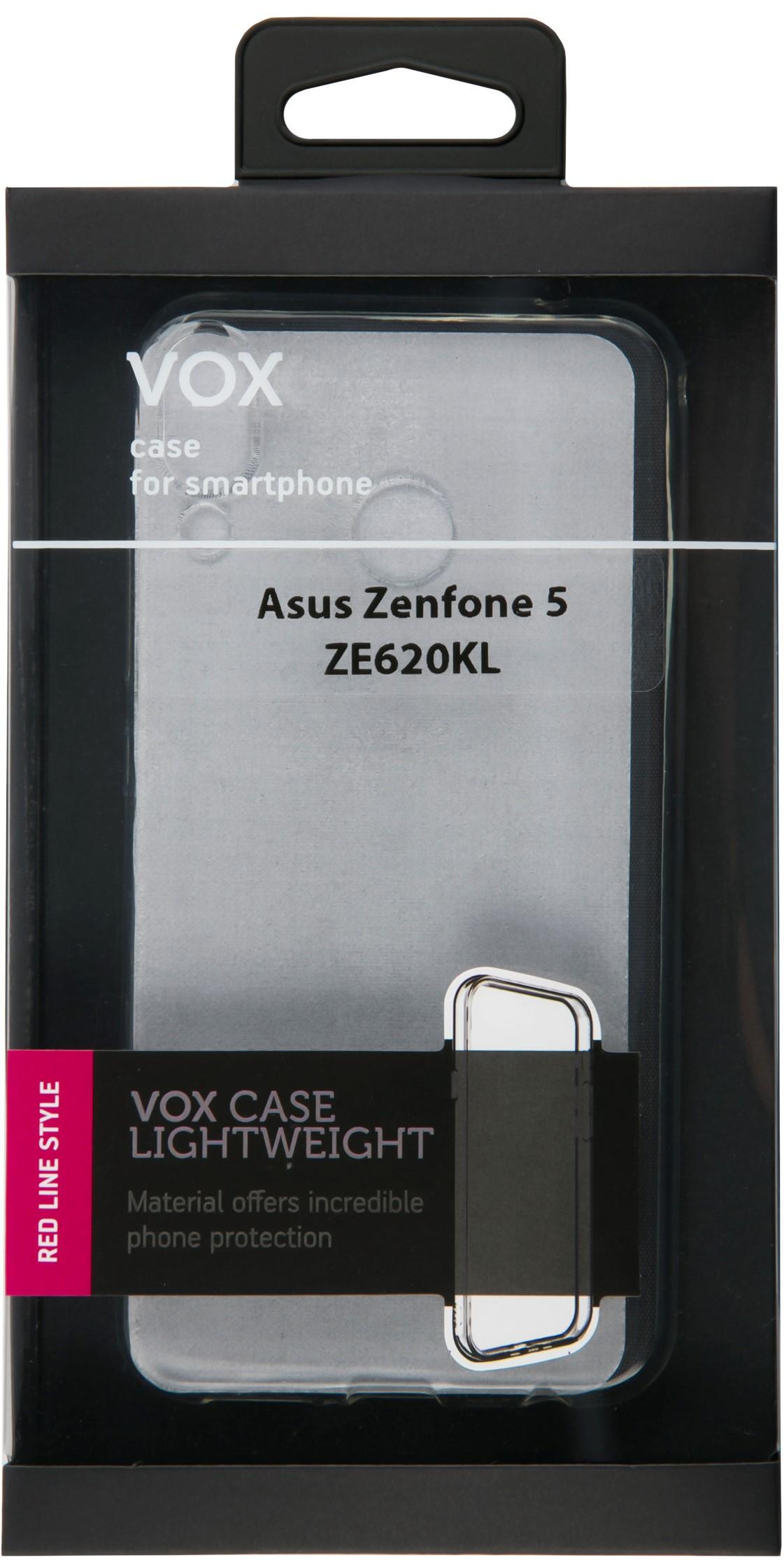 Клип-кейс Vox для Asus ZE620KL ZF5 прозрачный
