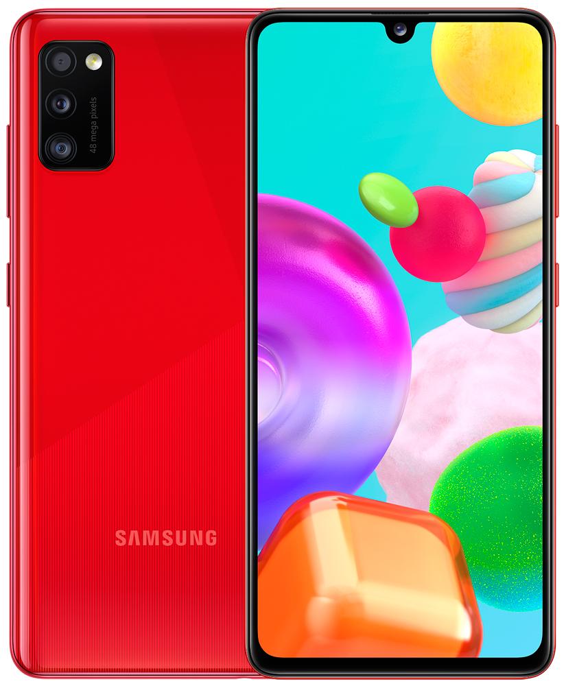 Смартфон Samsung A415 Galaxy A41 4/64Gb Red фото