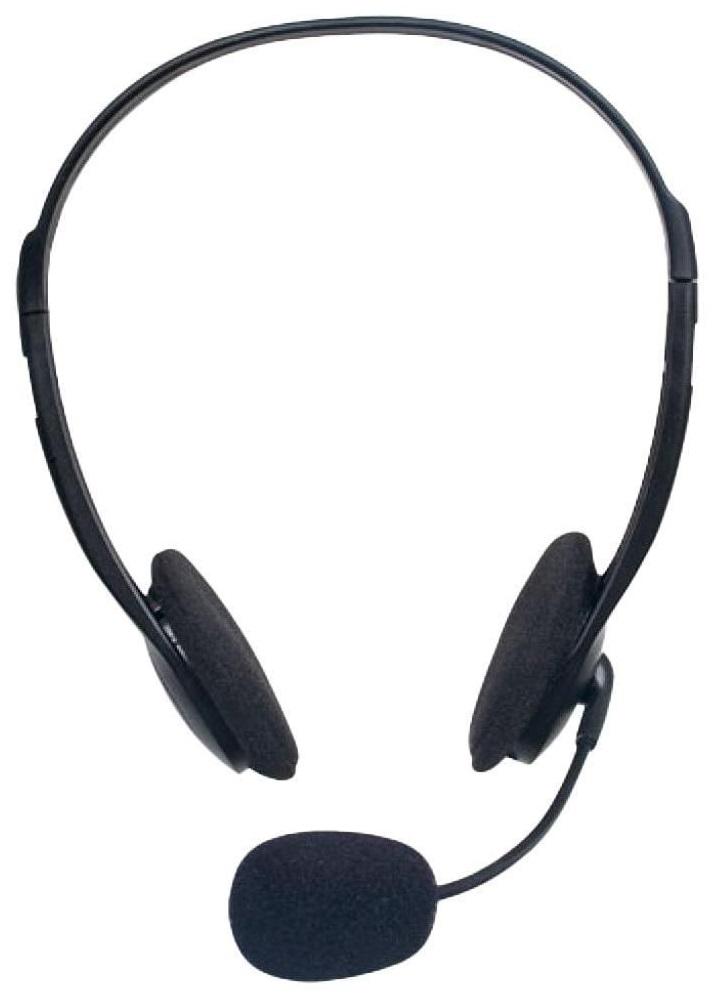 Наушники с микрофоном Defender Aura HN-102 Black наушники wolt stn 102 красный