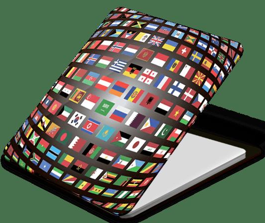 Держатель наклейка WTF Smart Sticker универсальный флаги (1.14) фото