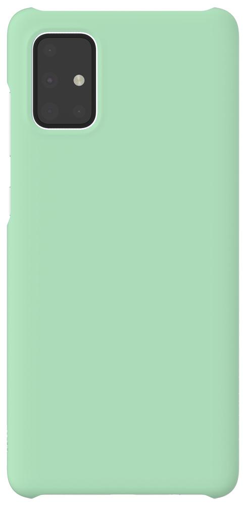 Клип-кейс WITS Samsung Galaxy A71 Mint (GP-FPA715WSAMR) чехол клип кейс samsung для samsung galaxy a71 wits premium hard case черный gp fpa715wsabr