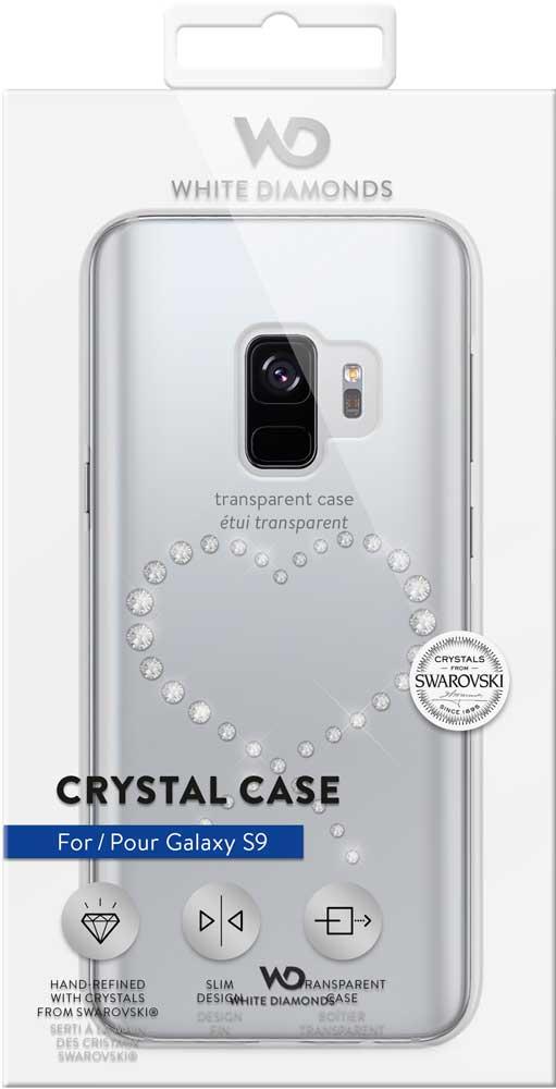 Клип-кейс White Diamonds Samsung Galaxy S9 прозрачный