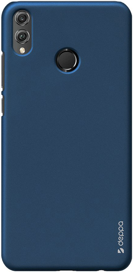 Клип-кейс Deppa Honor 8X пластик Blue клип кейс huawei для honor play blue 51992527