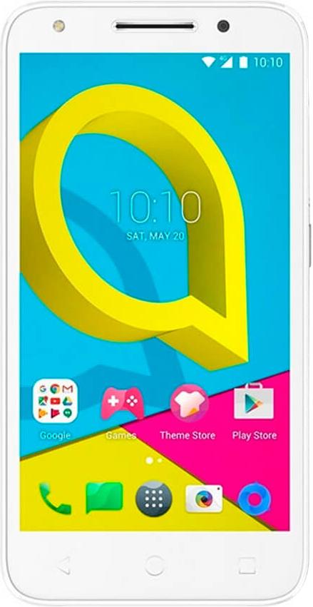 Смартфон Alcatel One Touch 4047D U5 White фото