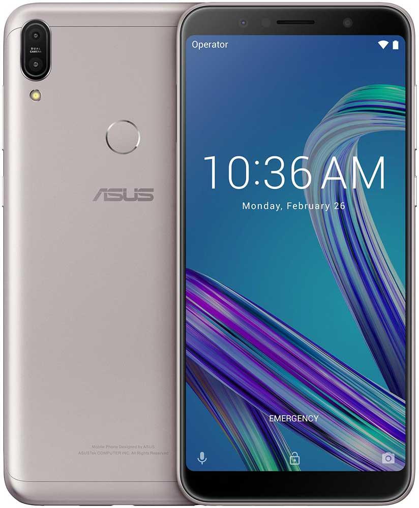 Смартфон Asus ZenFone Max Pro ZB602KL 32Gb Silver ZB602KL-4A005RU