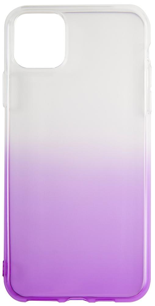 Клип-кейс RedLine iBox iPhone 11 прозрачный градиент Purple фото