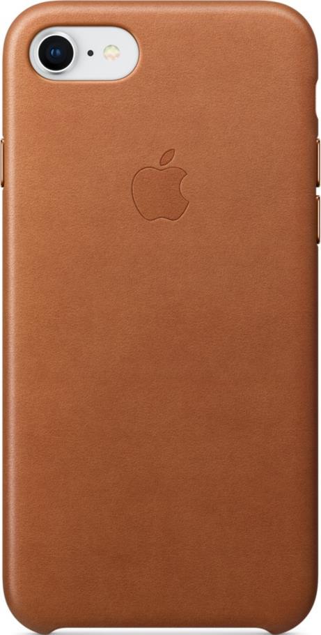 Клип-кейс Apple iPhone 8/7 кожаный Brown