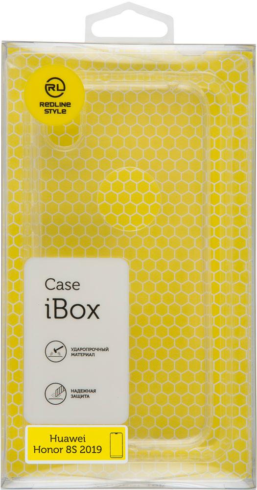 купить Клип-кейс RedLine iBox Huawei Honor 8S силикон прозрачный