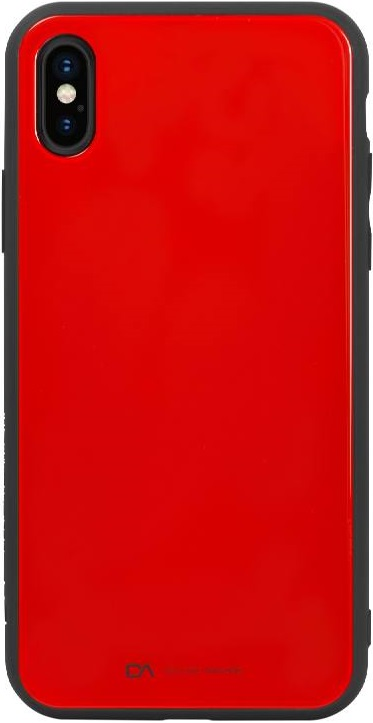 Клип-кейс Amazing Apple iPhone X Glass Red назначение iphone x iphone 8 iphone 7 iphone 6 кейс для iphone 5 чехлы панели с узором задняя крышка кейс для цветы мягкий термопластик