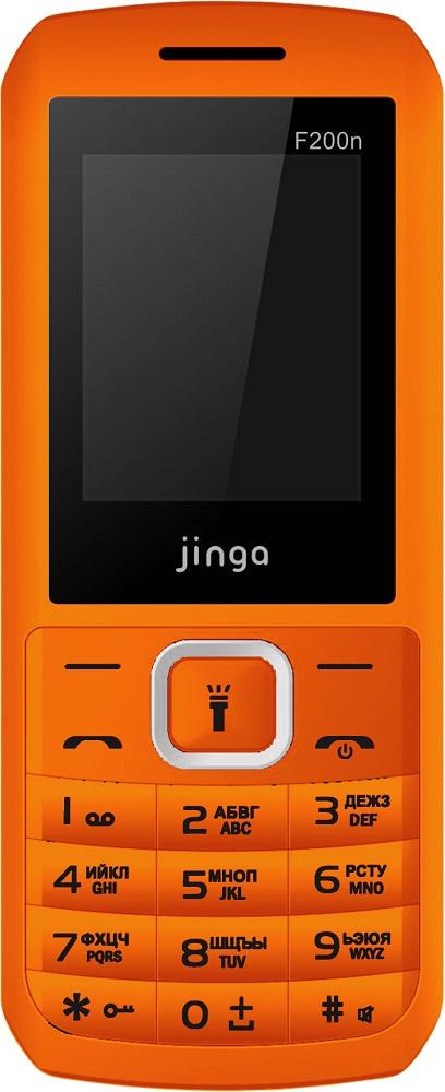 Мобильный телефон Jinga Simple F200n Dual sim Orange цена и фото
