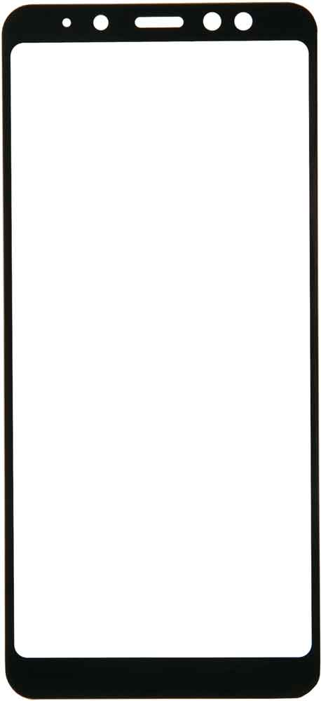Стекло защитное RedLine Corning для Samsung Galaxy A8 0.2 мм черная рамка фото