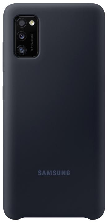 Клип-кейс Samsung A41 силиконовый Black (EF-PA415TBEGRU) фото