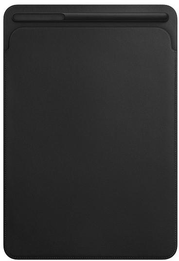 все цены на Чехол-футляр Apple для iPad Pro 10.5 кожаный black(MPU62ZM/A)