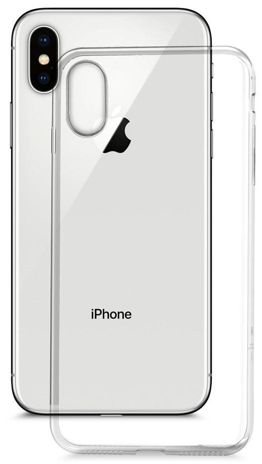 Клип-кейс MediaGadget для Apple iPhone X прозрачный наушники mediagadget aero twins at400c red
