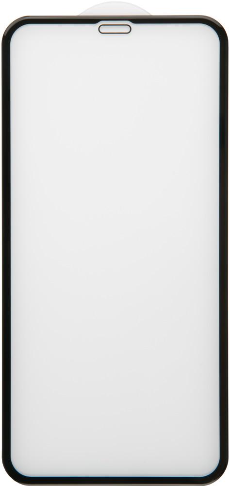 Фото - Стекло защитное RedLine для iPhone XR 3D Full Glue черная рамка защитное стекло pero 3d для iphone xr чёрное