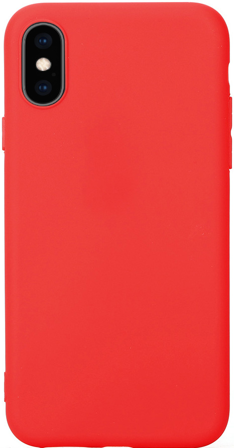 Клип-кейс Vili Apple iPhone XS TPU Red клип кейс vili apple iphone xr tpu red