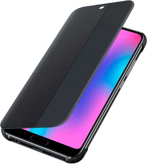 Чехол-книжка Huawei Honor 10 Black аксессуар чехол для huawei honor 10 brosco black hw h10 book black