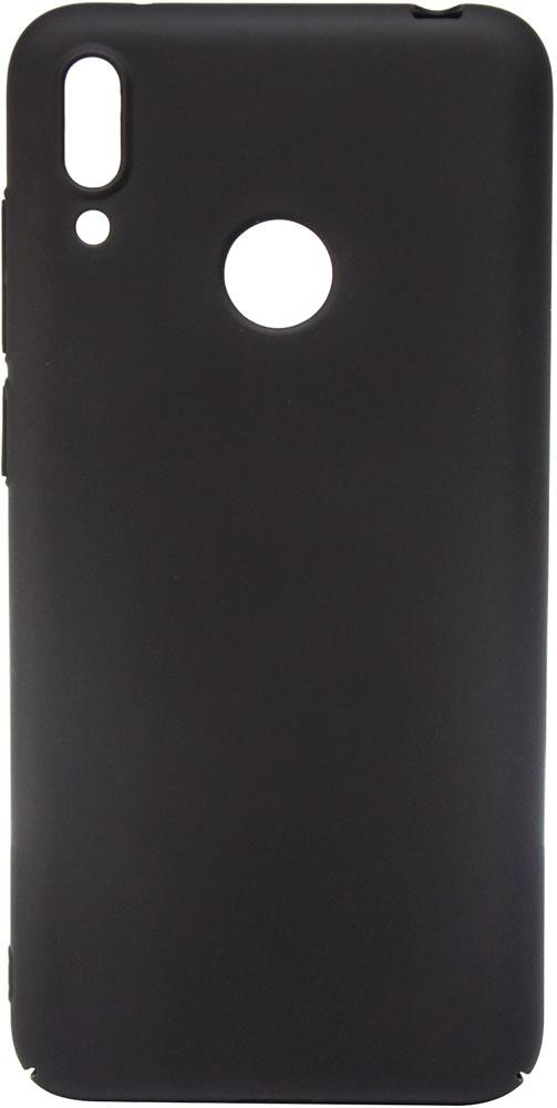 Клип-кейс MediaGadget Huawei Y6 2019 пластик Black mediagadget mg257 универсальная 11