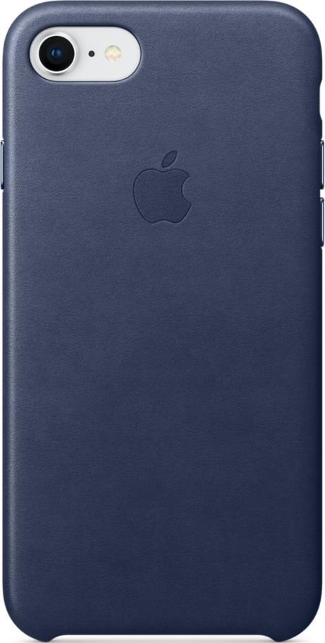 Клип-кейс Apple iPhone 8/7 кожаный Dark Blue