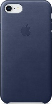 фото Клип-кейс Apple iPhone 8/7 кожаный Dark Blue