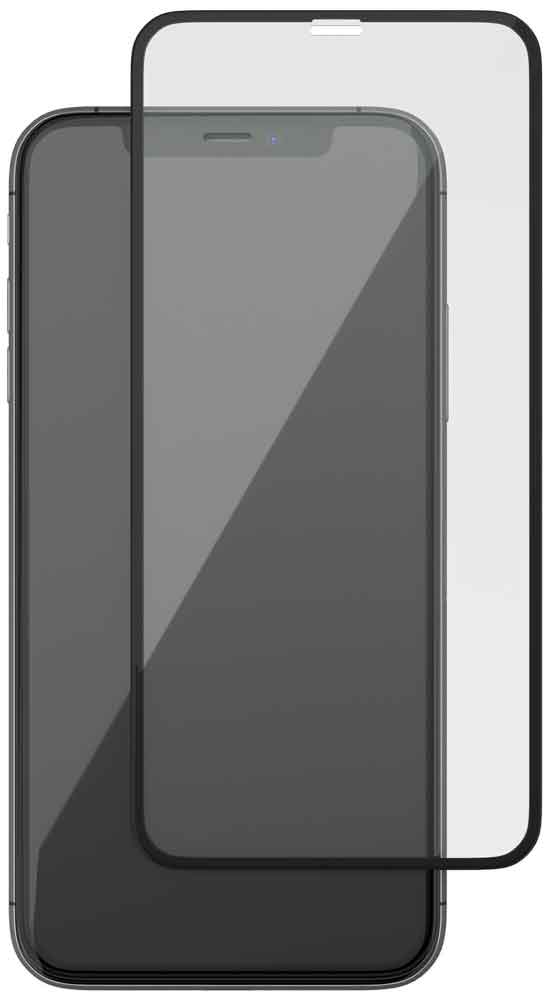 Стекло защитное uBear iPhone XS Max 0.2 мм черная рамка защитное стекло 3d deppa для apple iphone xs max 0 3 мм черная рамка
