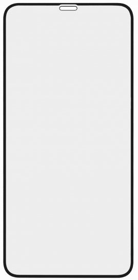 Стекло защитное RedLine для iPhone XS Max 3D Full Glue черная рамка стекло защитное redline iphone 11 3d privacy черная рамка