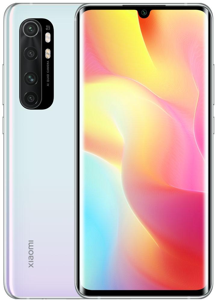 Смартфон Xiaomi Mi Note 10 Lite 6/128Gb Glacier White фото