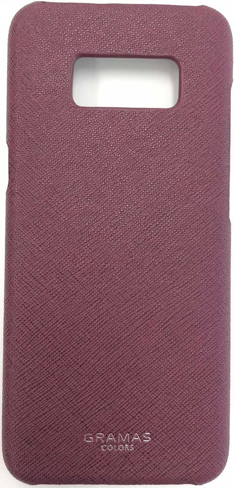 Клип-кейс Gramas Samsung Galaxy S8 Plus сафьяно Burgundy burgundy zip side scoop neck sleeveless maxi dress