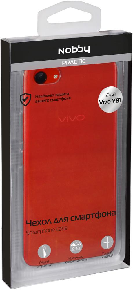 Клип-кейс Nobby Vivo Y81 прозрачный клип кейс vox vivo nex прозрачный