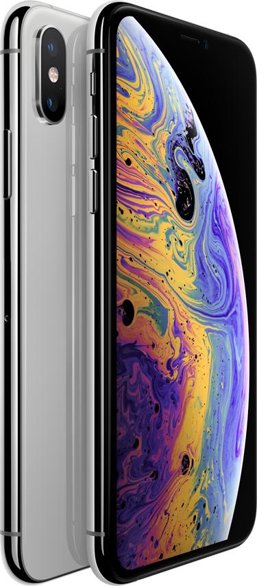 Смартфон Apple iPhone XS 64Gb Silver (Cеребристый)