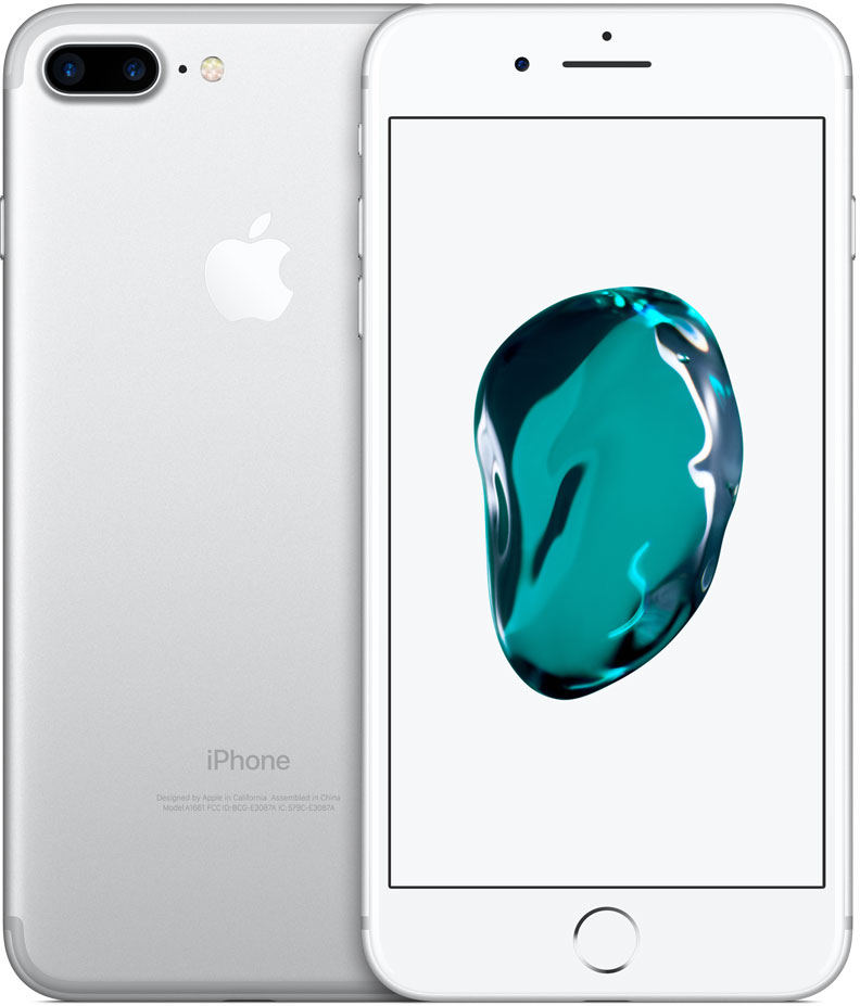 Смартфон Apple iPhone 7 Plus 32GB Silver (MNQN2RU/A) фото