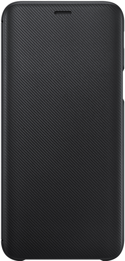 Чехол-книжка Samsung Galaxy J6 Wallet Cover Black (EF-WJ600CBEGRU) аксессуар чехол samsung galaxy j6 2018 wallet cover black sam ef wj600cbegru