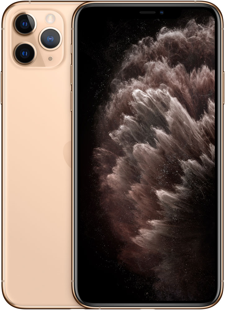Смартфон Apple iPhone 11 Pro Max 256Gb Золотой фото
